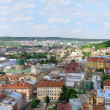Panorama of the Lviv, Ukraine — Stock Photo