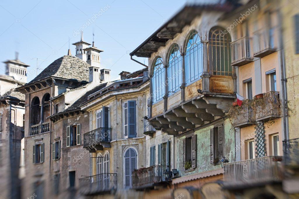 Domodossola Italy  city photos : Domodossola, Italy Medieval houses — Stock Photo © silvia63 ...