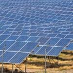 A central solar — Stock Photo