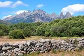 Bavella mountains — Stock Photo