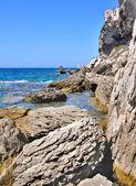 The cliffs of Bonifacio — Stock Photo