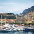 Stock Photo: Monte Carlo harbor