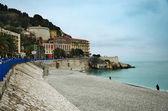 Nice beach, France — Stock Photo