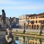 Prato della Valle, Padova — Stock Photo