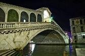 Rialto bridge in Venice, Italy — Stock Photo