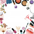 Make up products — 图库照片