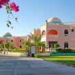 Tropical resort hotel, Hurghada city in Egypt - Stock Photo
