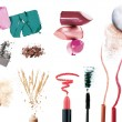 Stock Photo: Set of make up products