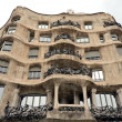 Casa Mila La Pedrera building, Barcelona - Stock Photo