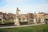 Prato della Valle in Padova, Italy — Stock Photo