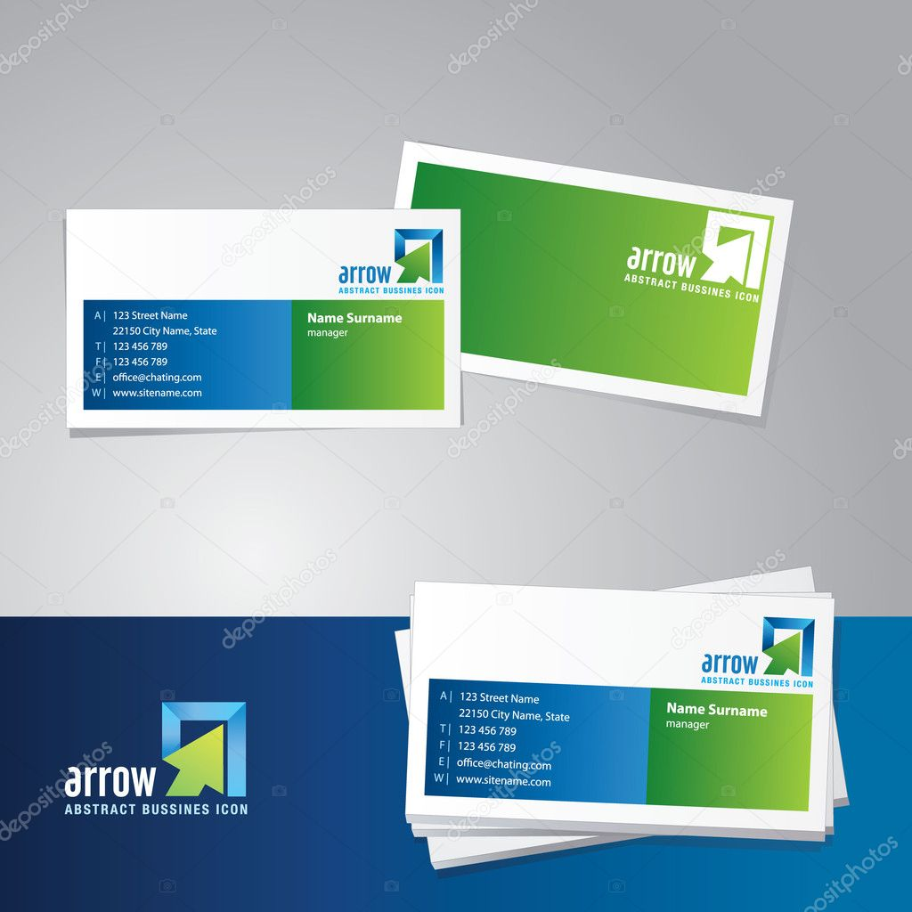 Business Card Icons Vector Vector Business Card