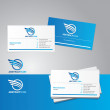 Vector business card — Stock Vector