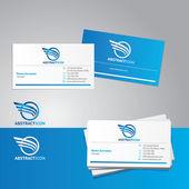 Vetor cartão de visita — Vetorial Stock