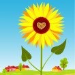 Royalty-Free Stock Vector Image: Sunflower.