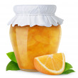 Orange jam — Stock Photo