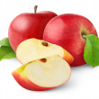 Red apples — Stock Photo #5467929
