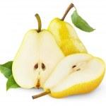 Yellow pears — Stock Photo