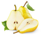 Yellow pears — Stock Photo