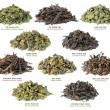Stock Photo: Chinese oolong tecollection