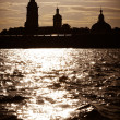 Peter and Paul Fortress in St. Petersburg, Russia - Stock Photo