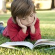 Boy reading — Stockfoto #6732568