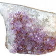 Mineral amethyst — Stock Photo