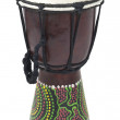 Tall Aboriginal Drum - Stock Photo