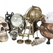Cluttered Witch's Corner - Stock Photo