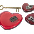 Which Heart to Unlock - Foto Stock