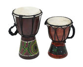 Aboriginal Djembe Drums — Stock Photo