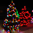 Defocused Christmas Lights — Stock Photo #6052426