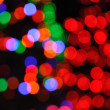 Royalty-Free Stock Photo: Defocused Christmas Tree Lights