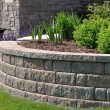 Retaining Wall - Stock Photo