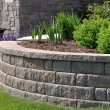Retaining Wall — Stock Photo