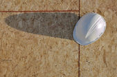 Hard Hat with Shadow — Stock Photo