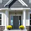 Front Entrance of a Residential Home — Stock Photo