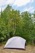 Tenda Campeggio nel deserto — Foto Stock