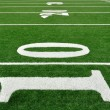 Ten Yard Line on American Football Field — Stock Photo #6643918