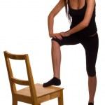 Exercise woman — Stock Photo #5585362