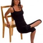 Exercise woman — Stock Photo #5585414