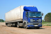 Blue truck — Stock Photo