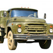 Green military truck — Stock Photo #5629378