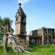 Destroyed church - Stock Photo