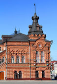 Budynek starej rosyjskiej — Zdjęcie stockowe
