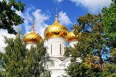 Golden cupolas — Stock Photo