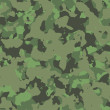 Green military camouflage - Stock Photo