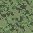 Stock Photo: Green military camouflage