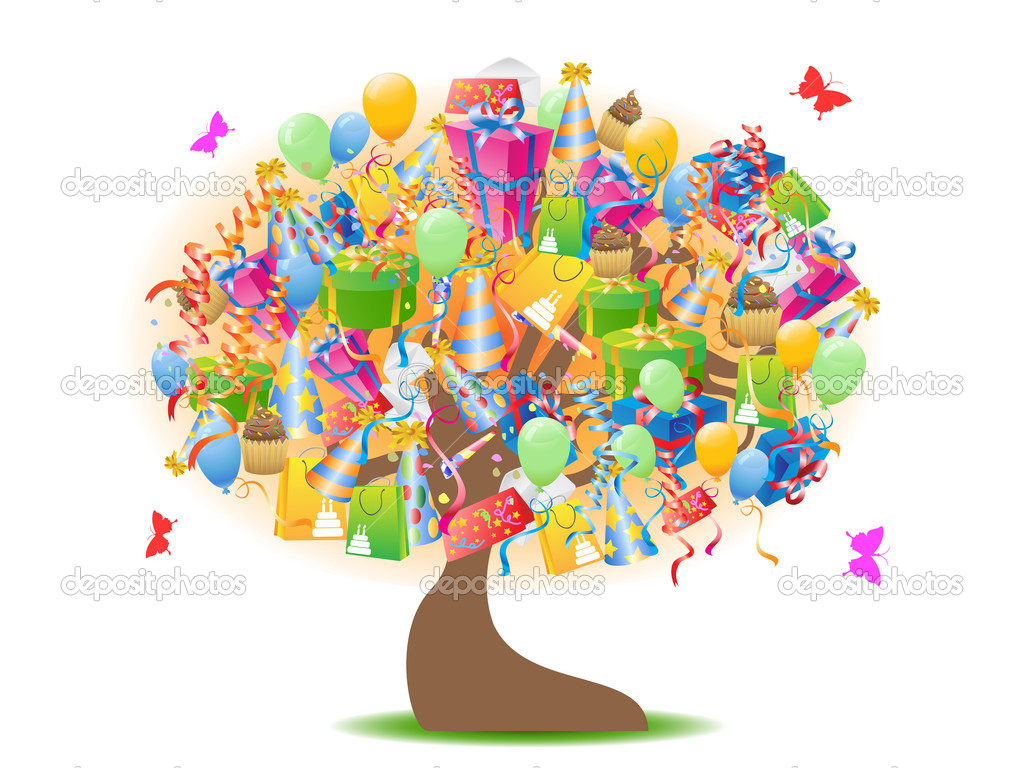 Подарок на день рождения дерево