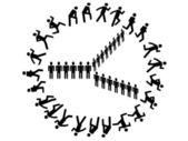 Symbol klocka — Stockvektor