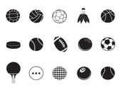 Ball icons collection — Stock Vector